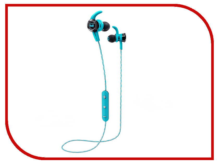 Monster iSport Victory Bluetooth Blue In-Ear Wireless 137087-00 беспроводные наушники monster isport victory in ear wireless blue