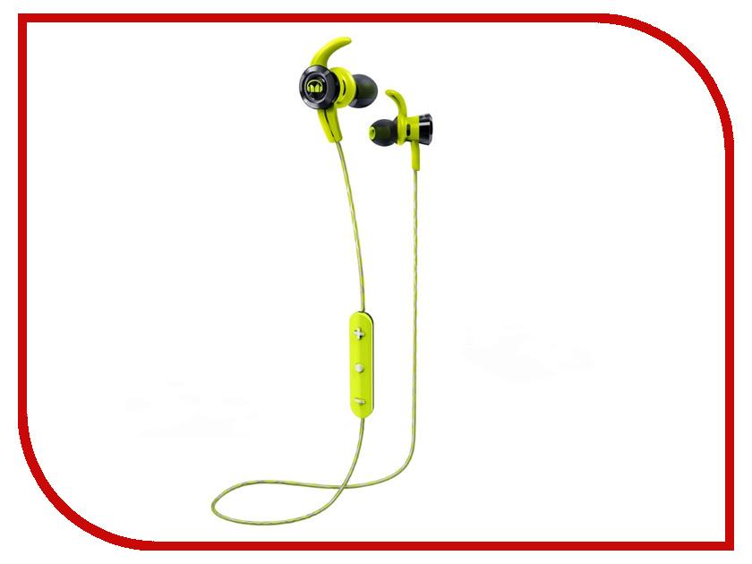 Monster iSport Victory Bluetooth Green In-Ear Wireless 137086-00 monster isport victory bluetooth green in ear wireless 137086 00