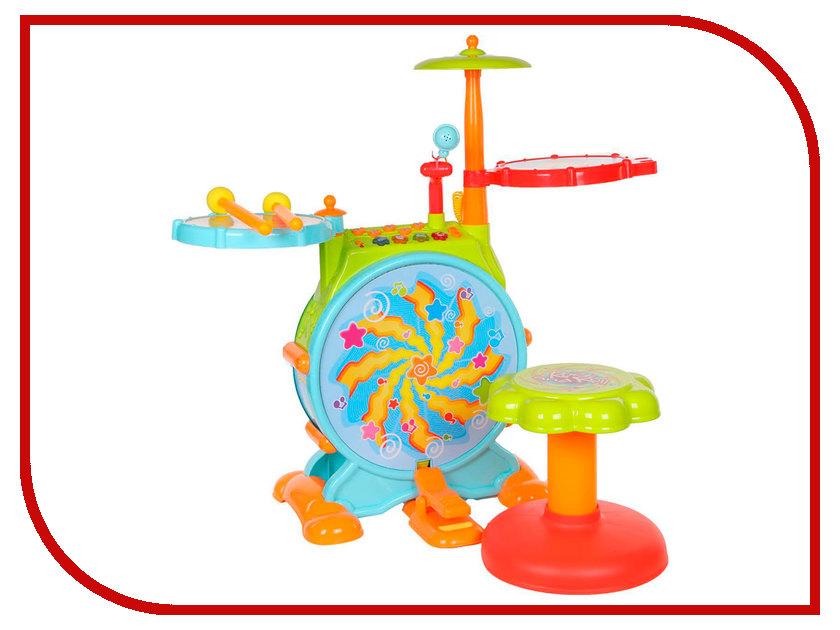 Детский музыкальный инструмент Huile Toys Музыкальный центр с барабанной установкой Y61142