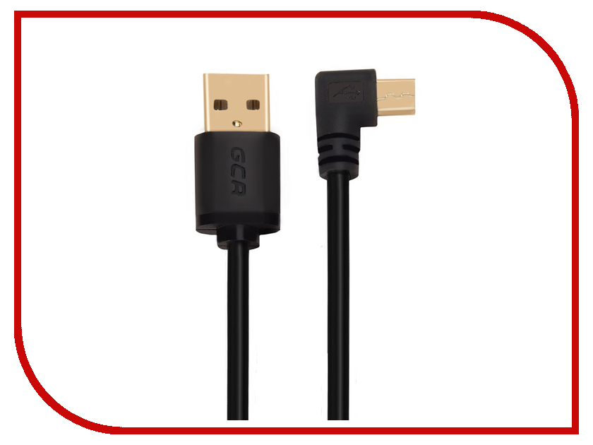 Аксессуар Greenconnect Micro USB 2.0 AM - Micro B 5pin 3.0m Black GCR-UA8AMCB6-BB2S-G-3.0m ptso1 5pin passthrough giftbox gs ptso1 micro 5 pin starter kit