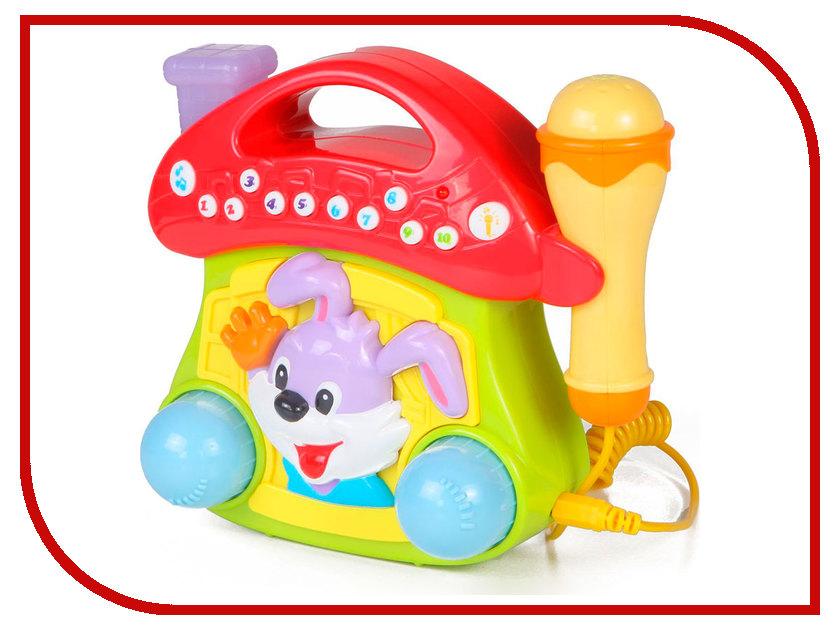 Игрушка Huile Toys Домик с микрофоном Y61152 huile toys развивающая игрушка руль