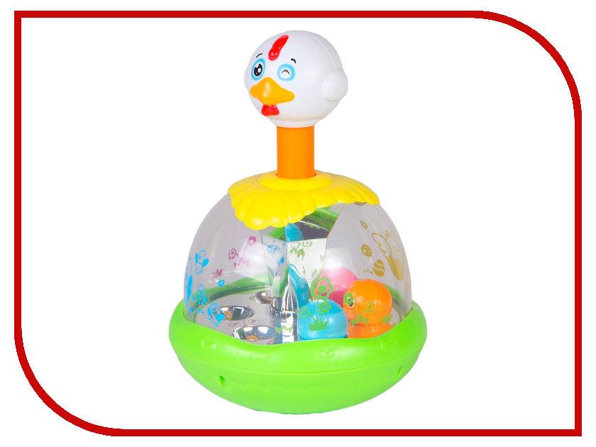 Юла Huile Toys Утка-каруселька Y61196 huile toys развивающая игрушка руль