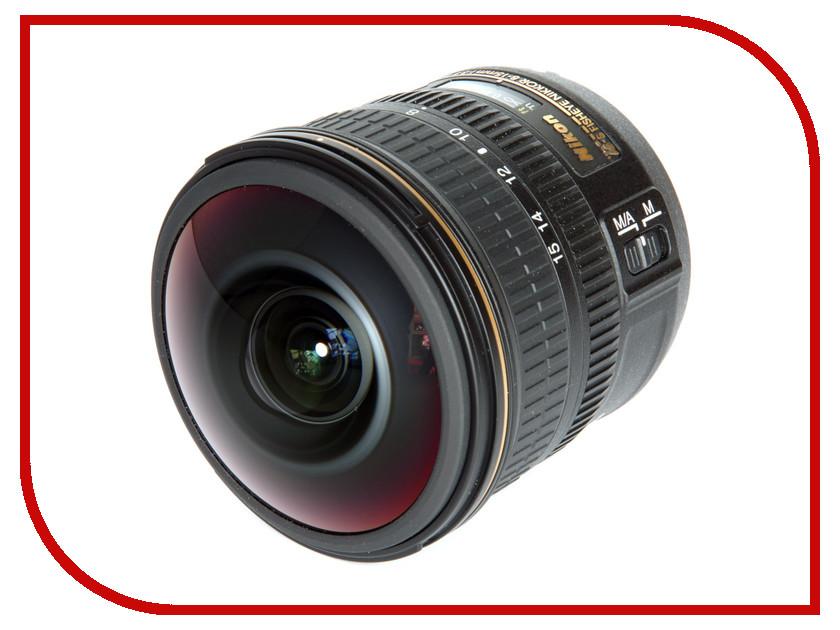 Объектив Nikon Nikkor AF-S 8-15 mm F/3.5-4.5E ED Fisheye