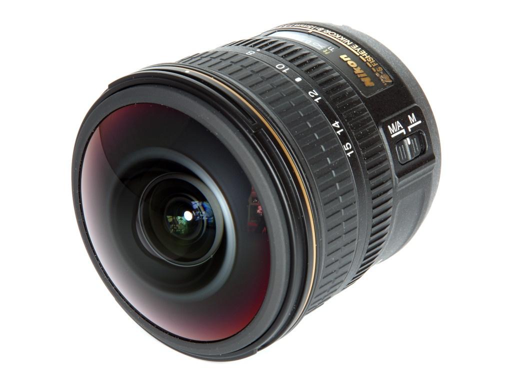 Объектив Nikon Nikkor AF-S 8-15 mm F/3.5-4.5E ED Fisheye объектив nikon nikkor af s 35 mm f 1 8 g dx