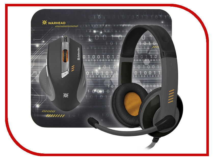 Мышь Defender Warhead MPH-1500 Black 52705 defender avr real 1500