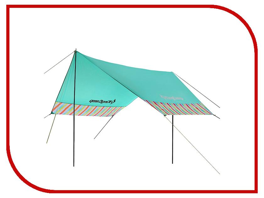 Тент KingCamp Garda Rainbow Turquoise 129007 / 9007 kingcamp портативное складное ведро для лагеря досуга пикник вне дома 8l