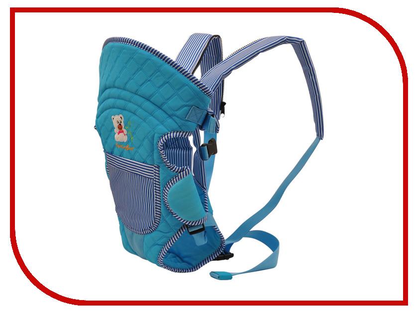 Эргорюкзак Baby Care HS-3184 Blue baby care ходунки step blue