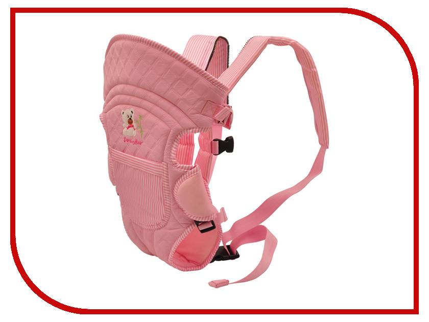 Эргорюкзак Baby Care HS-3184 Pink e csc 8 baby care