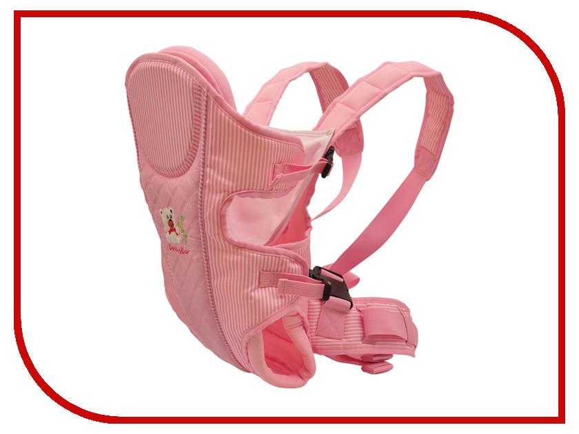 Эргорюкзак Baby Care HS-3185 Pink аксессуар baby care набор светоотражающих накладок для коляски 2шт white