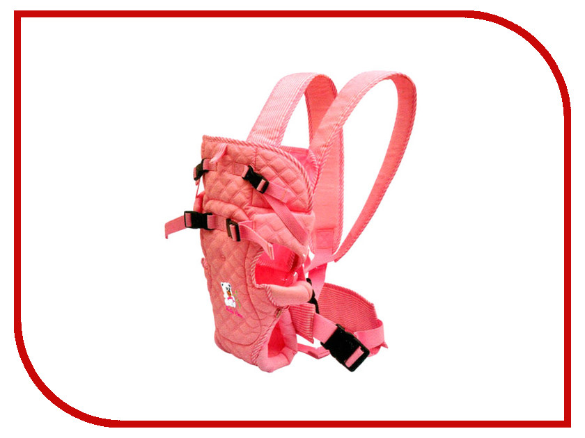 Эргорюкзак Baby Care HS-3195 Pink e csc 8 baby care