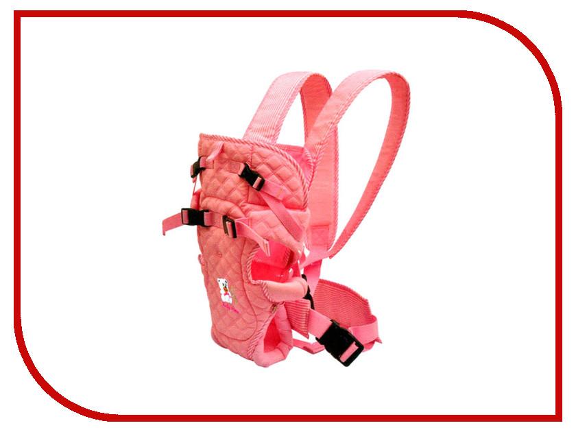 Эргорюкзак Baby Care HS-3195 Pink аксессуар baby care набор светоотражающих накладок для коляски 2шт white
