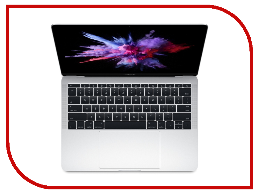 Ноутбук APPLE MacBook Pro 13 Silver MPXU2RU/A (Intel Core i5 2.3 GHz/8192Mb/256Gb/Intel Iris Plus Graphics 640/Wi-Fi/Bluetooth/Cam/13.3/2560x1600/macOS Sierra) awo compatibel projector lamp vt75lp with housing for nec projectors lt280 lt380 vt470 vt670 vt676 lt375 vt675