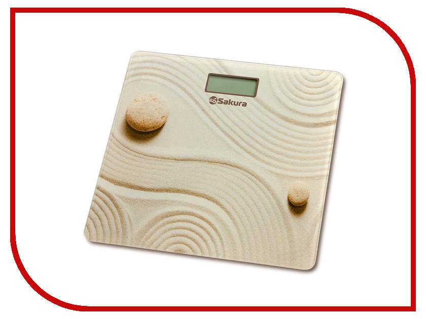 Весы напольные Sakura SA-5072C Sand электробритва sakura sa 5415bl