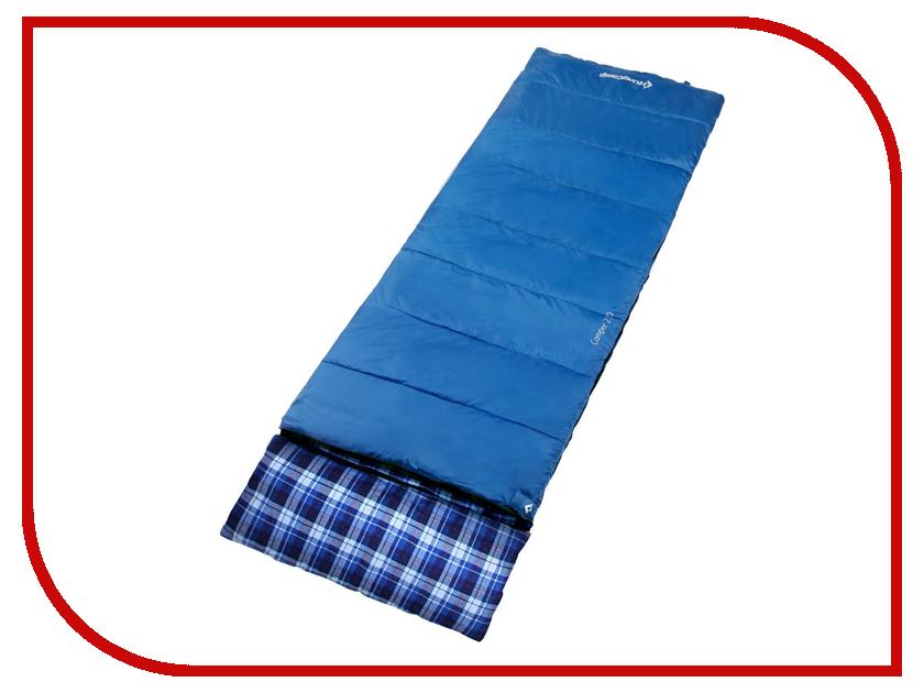 Cпальный мешок KingCamp Camper 250 Blue