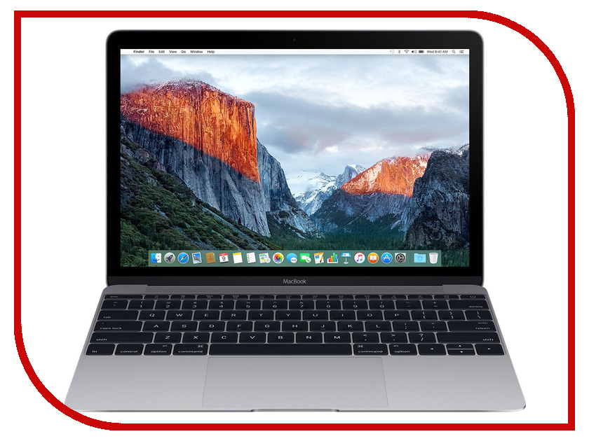 Ноутбук APPLE MacBook 12 Space Grey MNYF2RU/A (Intel Core m3 1.2 GHz/8192Mb/256Gb/Intel HD Graphics 615/Wi-Fi/Bluetooth/Cam/12.0/2304x1440/macOS Sierra) ноутбук apple macbook core m3 1 2ghz 12 8gb ssf256gb hdg615 mac os x gray mnyf2ru a
