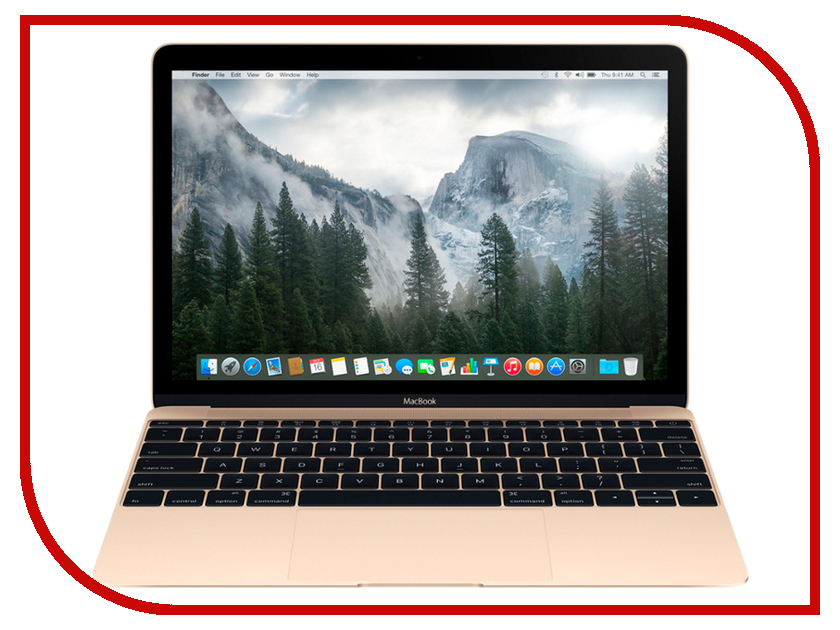 Ноутбук APPLE MacBook 12 Gold MNYL2RU/A (Intel Core i5 1.3 GHz/8192Mb/512Gb/Intel HD Graphics 615/Wi-Fi/Bluetooth/Cam/12.0/2304x1440/macOS Sierra)<br>