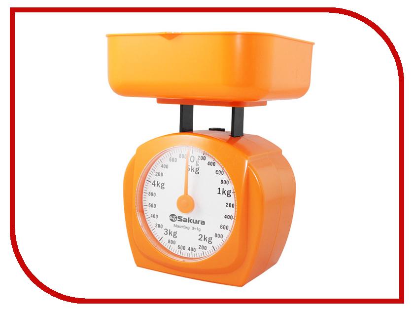 Весы Sakura SA-6017A Orange