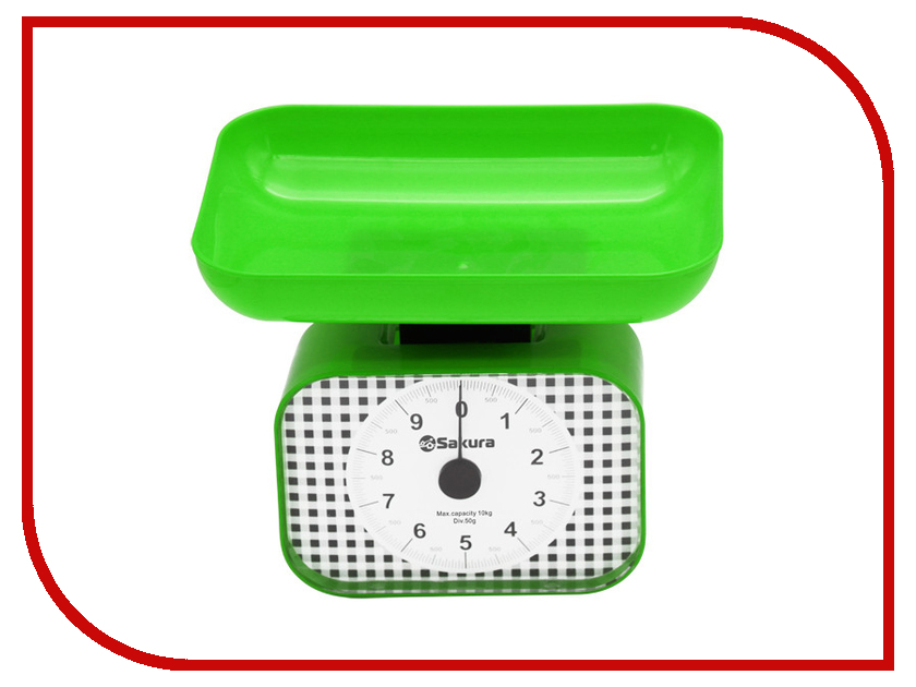 Весы Sakura SA-6016GR Green
