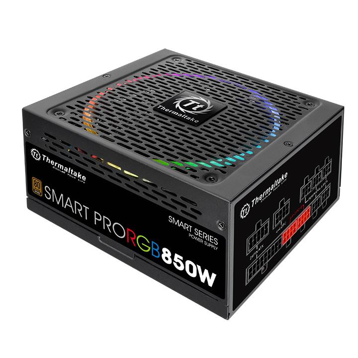 Блок питания Thermaltake Smart Pro RGB 850W PS-SPR-0850FPCBEU-R