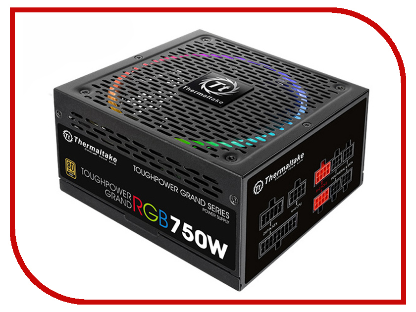 Блок питания Thermaltake Toughpower Grand RGB 750W PS-TPG-0750FPCGEU-R / TPG-0750F-R блок питания пк thermaltake atx 850w toughpower grand rgb ps tpg 0850fpcgeu r