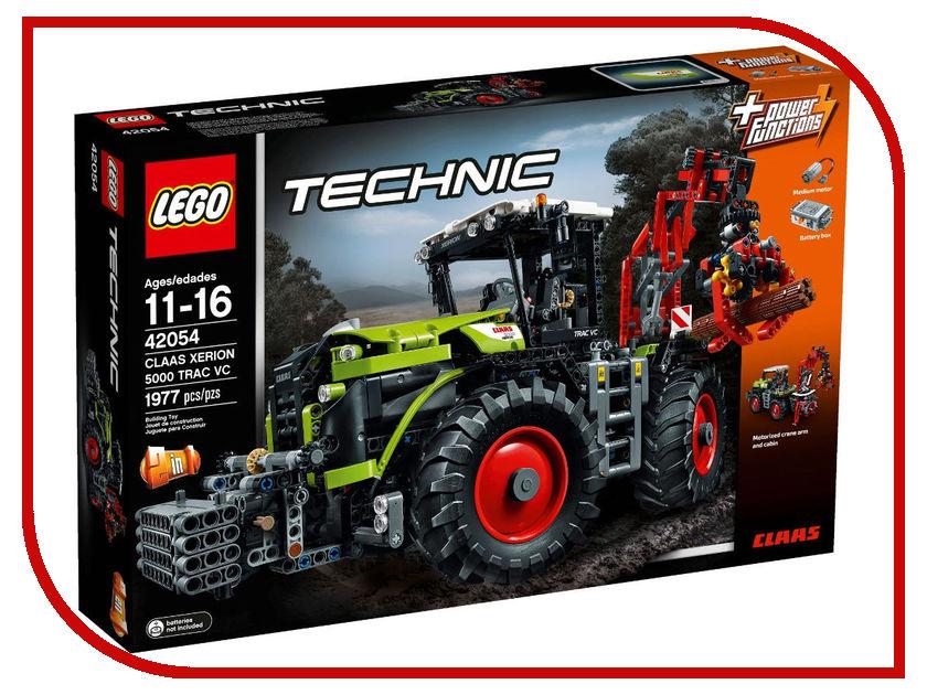 Конструктор Lego Technic Мощный трактор Claas Xerion 5000 42054 lego technic конструктор рекордсмен