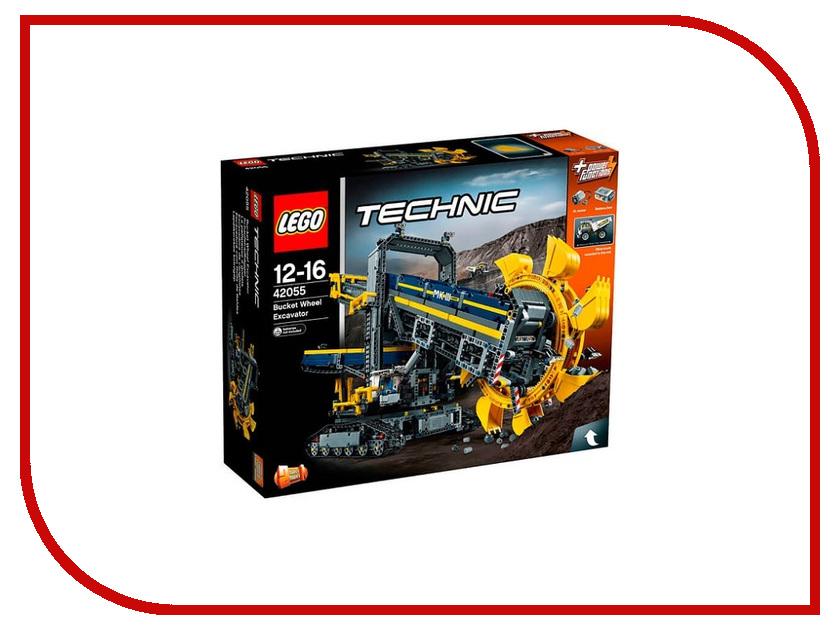 Конструктор Lego Technic Роторный экскаватор 42055 toys for children china brand 355 self locking bricks compatible with lego technic rescue helicopter 8068 no original box