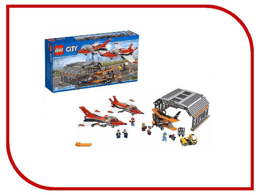 Конструктор Lego City Авиашоу 60103 lego city конструктор внедорожник каскадера 60146