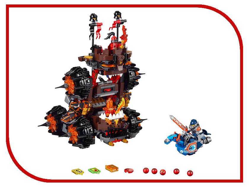 Конструктор Lego Nexo Knights Осадная машина генерала Магмара 70321 тетради lego тетрадь 100 листов линейка lego nexo knights рыцари нексо размер 19х24 7 см