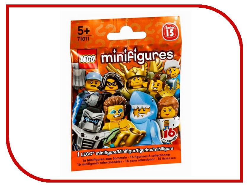 Конструктор Lego Collectable Minifigures Серия 15 71011