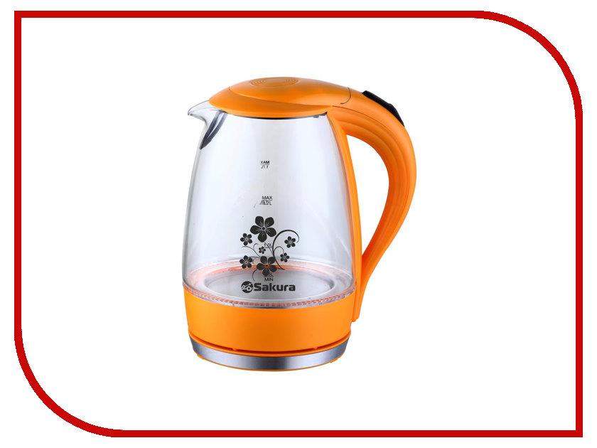 Чайник Sakura SA-2710 Orange чайник sakura sa 2134bl