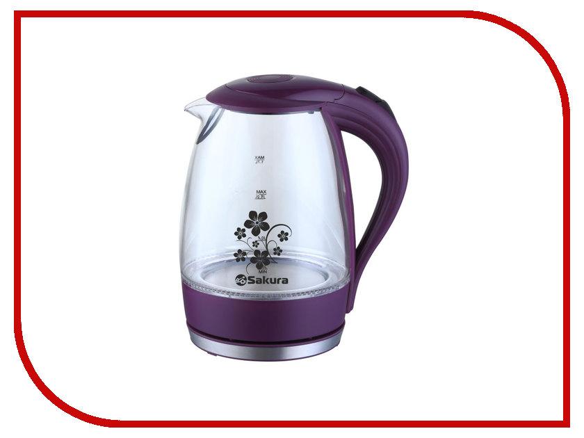 Чайник Sakura SA-2710 Violet чайник sakura sa 2340p