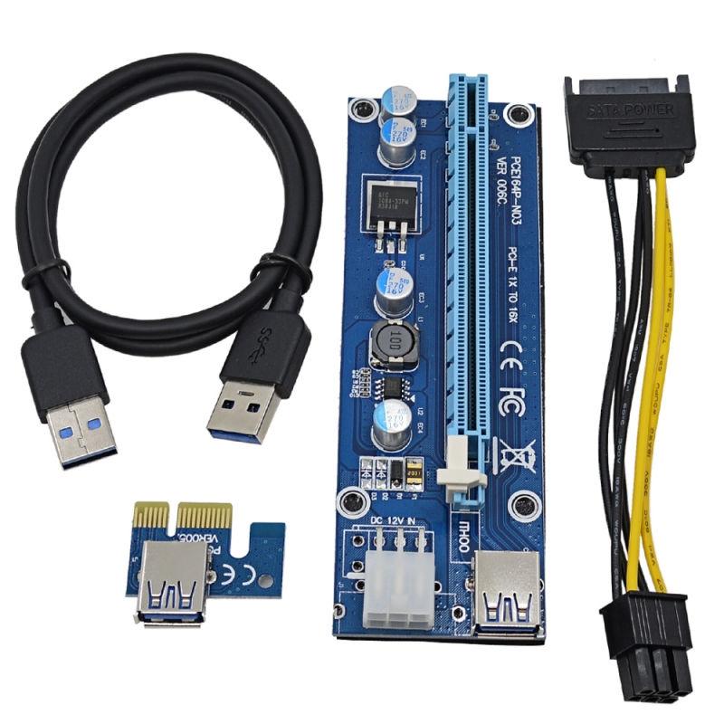 Аксессуар Адаптер Espada Mining PCI-E X1 M to PCI-E X16 F Express USB 3.0 6pin SATA EPCIekit майнинг e m forster where angels fear to tread by e m forster fiction classics