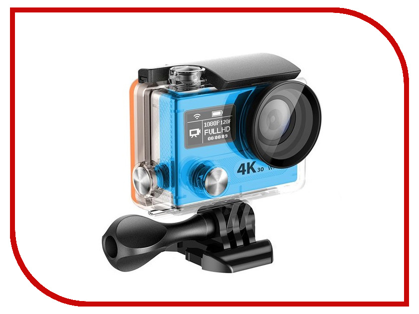 Экшн-камера EKEN H8 Ultra HD Blue eken pano360 экшн камера