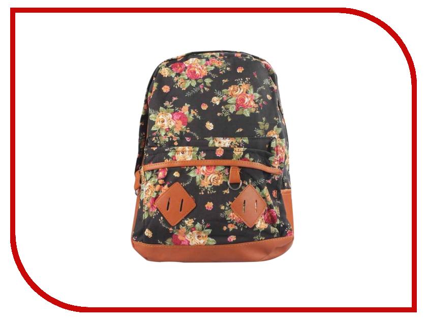 Рюкзак Megamind М5680 Flowers Black