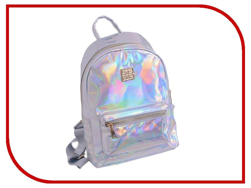 Рюкзак Megamind М6786 Holographic Silver