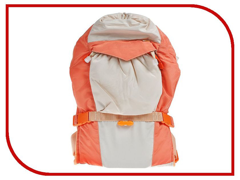 Эргорюкзак Чудо-Чадо Baby Active Lux Beige-Orange BLP01-001