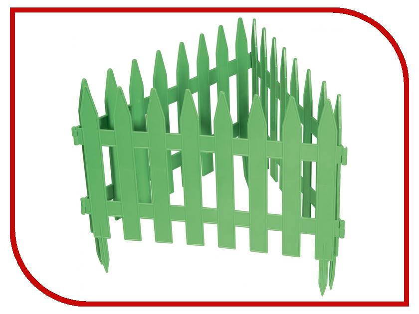 Забор декоративный Palisad Классический 28x300cm Green 65005