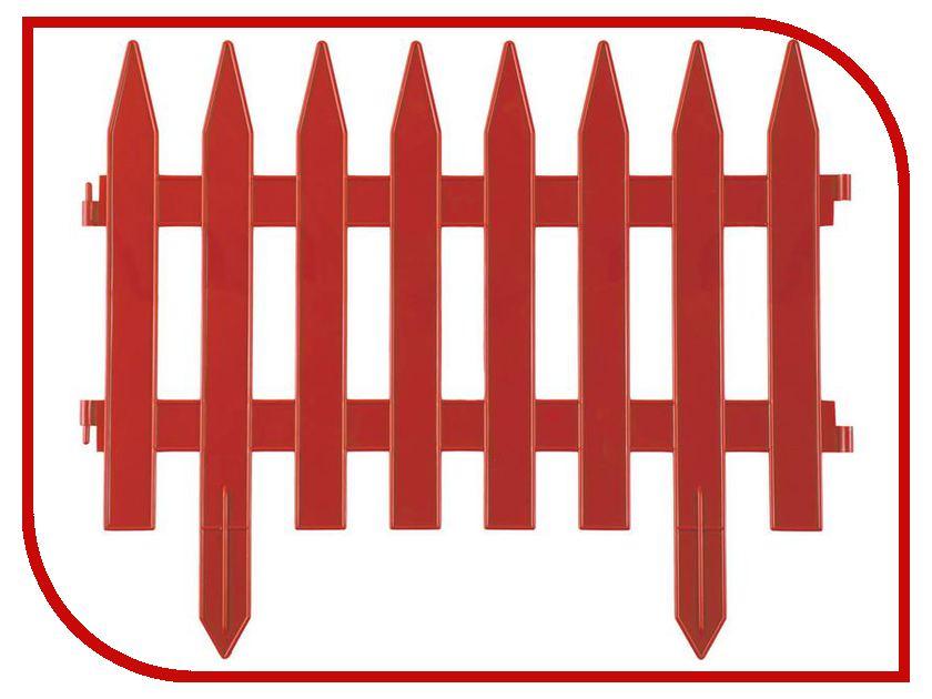 Забор декоративный Palisad Рейка 28x300cm Terracotta 65007 забор декоративный плетенка