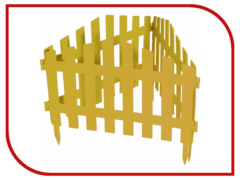 Забор декоративный Palisad Марокко 28x300cm Yellow 65031