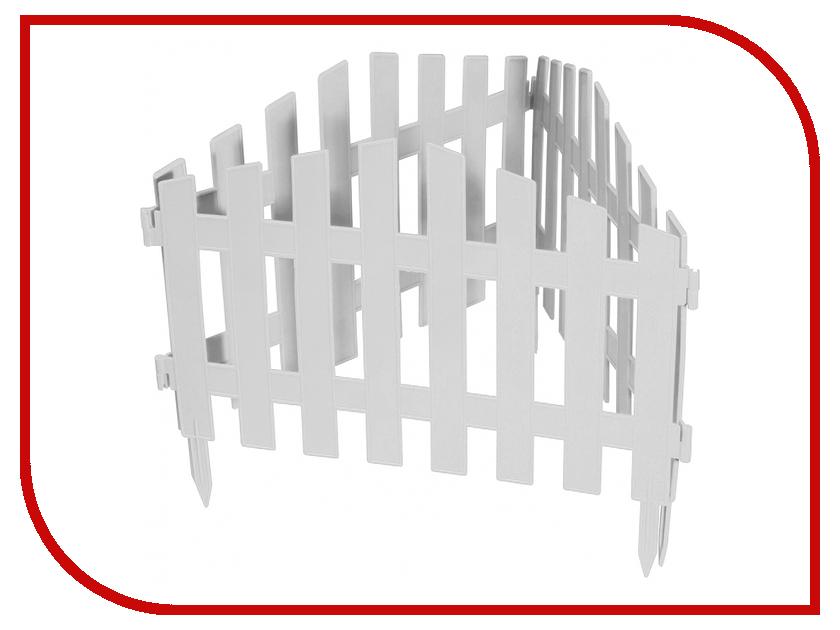 Забор декоративный Palisad Марокко 28x300cm White 65035
