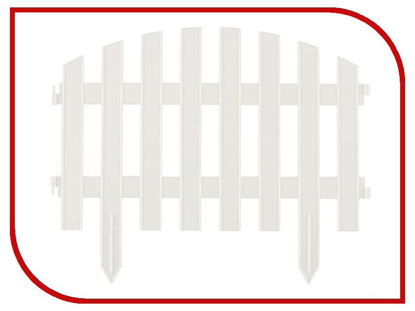 Забор декоративный Palisad Винтаж 28x300cm White 65011