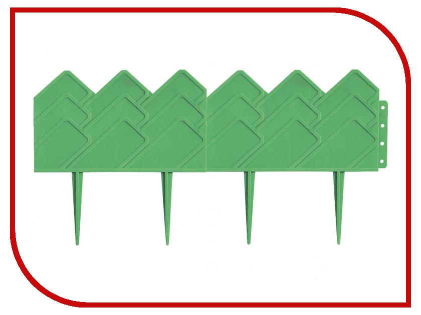 Бордюр Palisad Кантри 14x310cm Green 65060