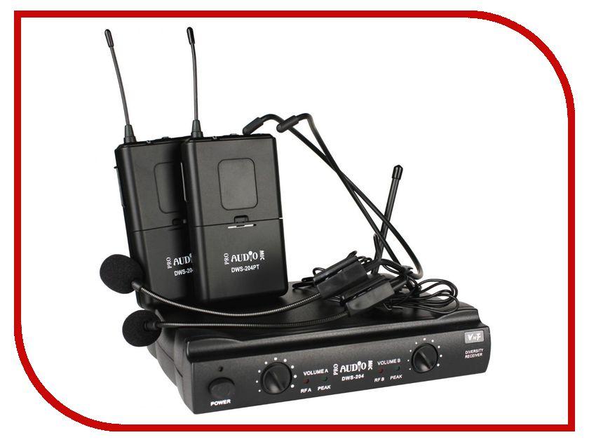 Радиосистема ProAudio DWS-204PT hettich 4925 06