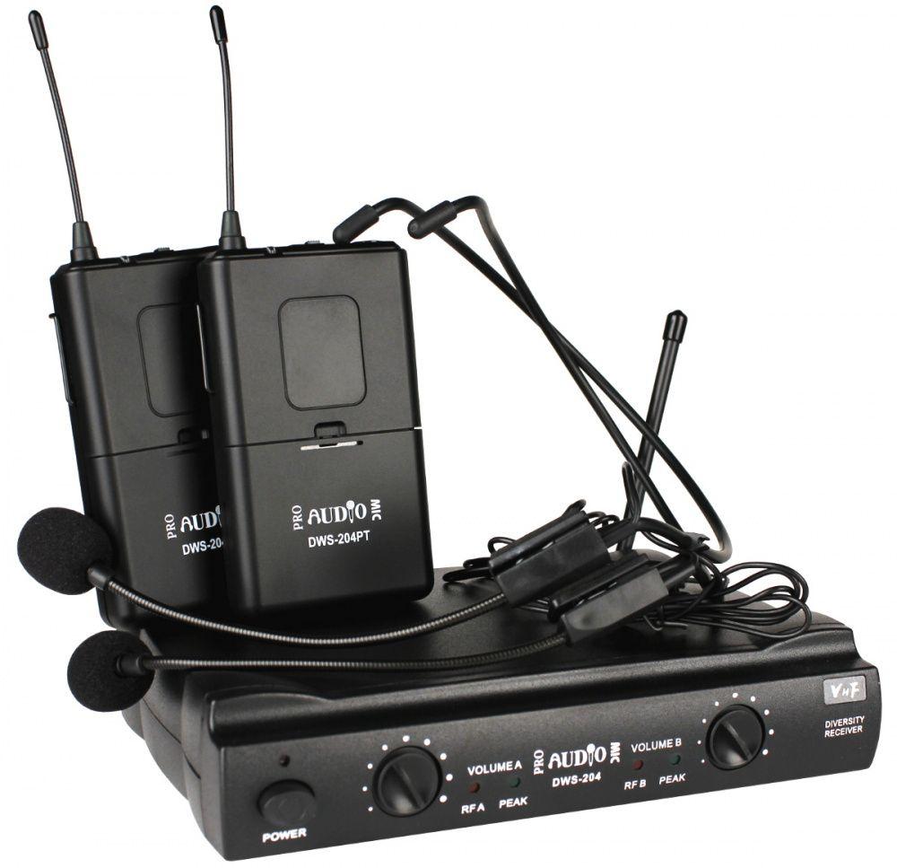 Радиосистема ProAudio DWS-204PT радиосистема proaudio ws 830ht b