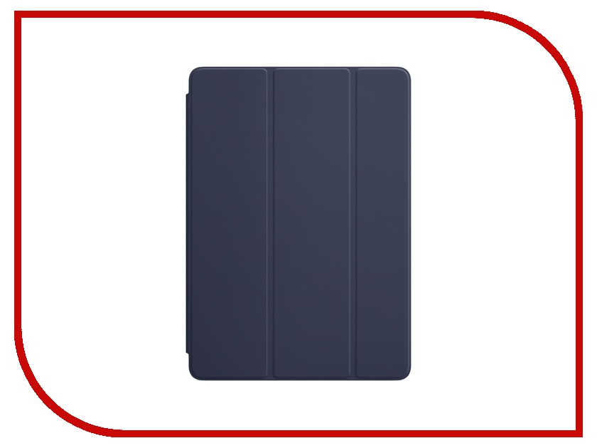 Аксессуар Чехол APPLE iPad / iPad Air 2 Smart Cover Midnight Blue MQ4P2ZM/A 360 degree rotatable cover bluetooth v3 0 64 key keyboard for ipad air black