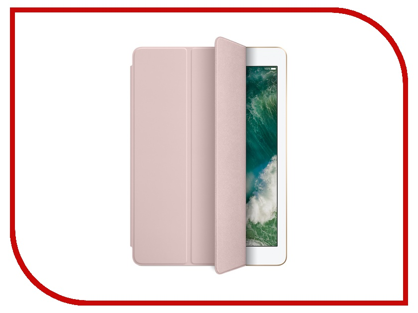 Аксессуар Чехол APPLE iPad / iPad Air 2 Smart Cover Pink Sand MQ4Q2ZM/A 360 degree rotatable cover bluetooth v3 0 64 key keyboard for ipad air black