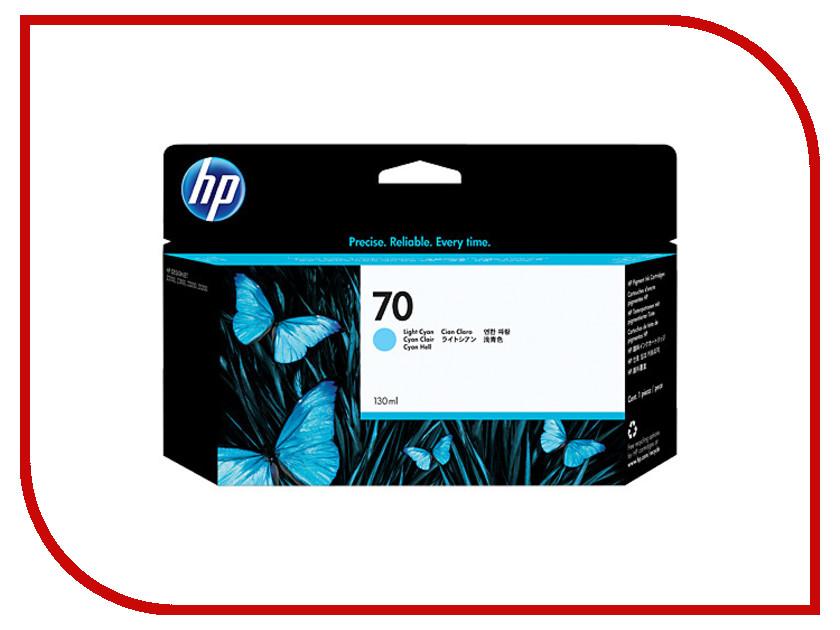 Картридж HP 70 C9390A 130ml Light Cyan для HP DJ Z2100/Z3100