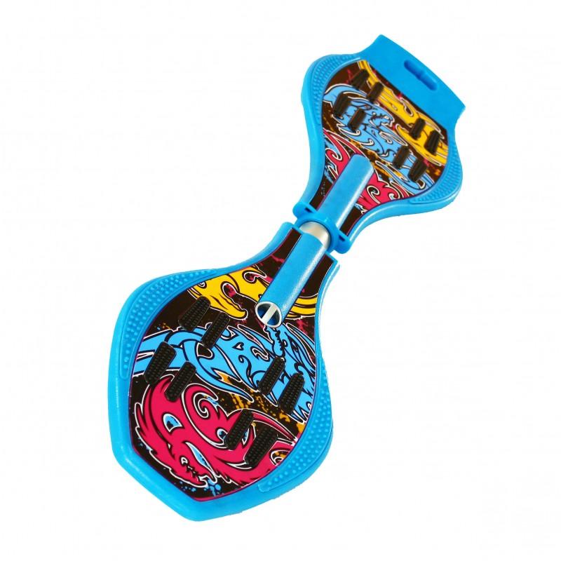 Скейт Dragon Board Totem Blue скейт ecobalance cruiser board blue yellow