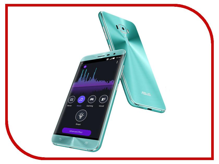 Сотовый телефон ASUS ZenFone 3 ZE520KL 32Gb Blue asus zenwatch 3 wi503q silicon
