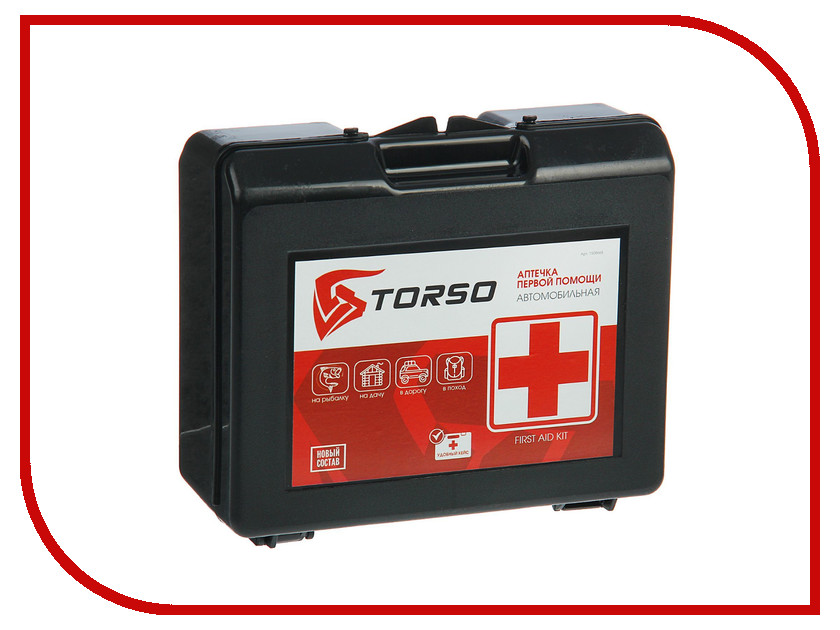 Аптечка TORSO 1508665 стоимость аптечка